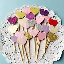 aliexpress com buy happy birthday party 10 pcs heart new cake