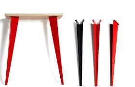 pieds de bureau fabriquer la table de ses rêves design chic à petits prix