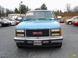 1993 Gmc Sierra Interior 1993 Light Quasar Blue Metallic Gmc Sierra 1500 Sle Regular Cab