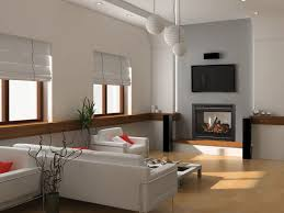 living room ideas with electric fireplace and tv above entry