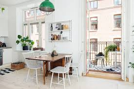 open space eat in kitchen swedish style woont love your home