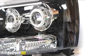 led strip lights headlights 2007 2014 chevrolet tahoe bi xenon hid retrofit projector rgb led