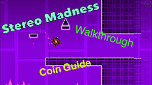 geometry dash stereo madness walkthrough and coin guide youtube