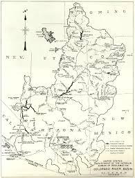 Map Of The Colorado River by Qala Bist Com 1935 September