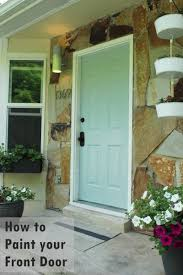 House Exterior Doors How To Paint An Exterior Door As In Shut The Front Door