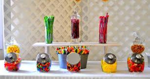 diy candy bag favor table weddingbee photo gallery