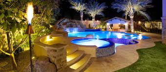 Backyard Pool Landscaping Pictures by Phoenix Landscaping Design U0026 Pool Builders Pool Remodeling