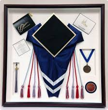 graduation memory box framed memorabilia sports memorabilia romeo s arts in