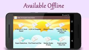 cbse 7th english class notes android apps on google play