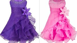 how to make latest quinceanera ruffled organza party wear with