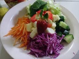 cara membuat salad sayur atau buah salad sayuran dan buah dapur ibu archard