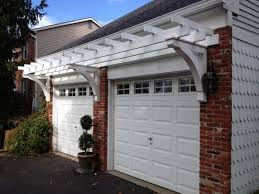 garage door pergola pergola gazebo ideas