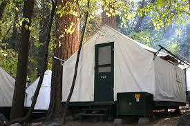 Tent Building Half Dome Village In Yosemite National Park Ca Travelyosemite Com