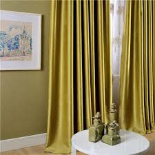Yellow Curtains For Living Room Living Room Charming Velvet Curtains For Modern Living Room Ideas