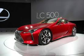 lexus that looks like a lamborghini 2018 lexus lc 500 video first look