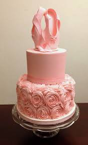 ballet cake made for a ballerina u0027s baby shower cake is