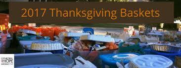 thanksgiving baskets thanksgiving basket benevolence