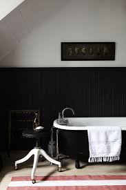 Paris Bathroom Rug by Of Every Stripe 10 Favorite Striped Rugs In The Bath Classic