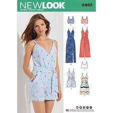 jumpsuit stitching pattern misses jumpsuit and dress in two lengths with bralette new look