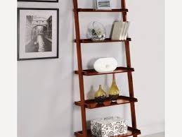 Natural Oak Leaning Shelves With Natural Oak Leaning Shelves With Drawer Futon Company Small