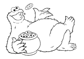 cookie monster coloring 66 coloring pages