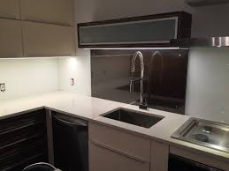 tempered glass shelves for kitchen cabinets back painted glass for your kitchen backsplash custom