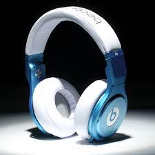 buy beats by dre sale pro blue white headphones sports beats by