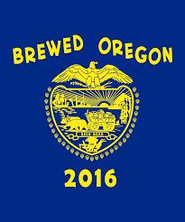 New Oregon Flag Brewed Oregon Oregon Craft Beer Gear And Apparel