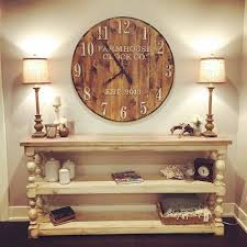 Best 25 Large Wall Clocks Unique Design 40 Inch Wall Clock Best 25 Farmhouse Clocks Ideas On