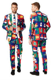 christmas suit christmas suits for men add zany cheer to a party