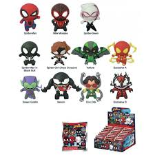 classic key rings images Spider man classic 3d foam key ring blind bags marvel collection jpg