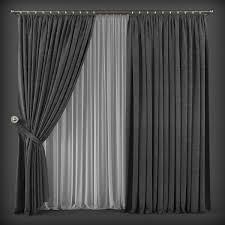 curtains 3d models cgtrader com