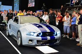 need for speed mustang for sale need for speed ford mustang sells for 300 000 at barrett jackson