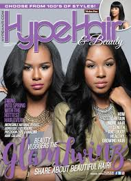 hype hair styles for black women the glamtwinz are hype hair magazine s first beauty vlogger cover