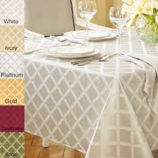 oval tablecloths for less overstock