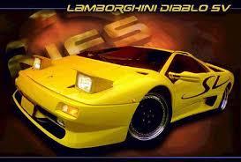 lamborghini diablo poster cheap car lamborghini diablo sv