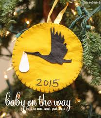 diy baby ornaments for to be crafts unleashed