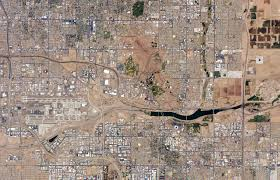 Map Of Phoenix Metro Area by Central Phoenix Metro Area Arizona Image Of The Day
