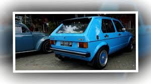 volkswagen indonesia vw golf mk1 club indonesia 002 youtube