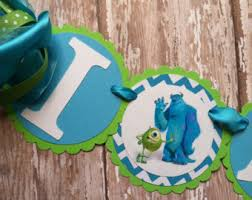 Monster Inc Decorations Monsters Inc Party Etsy