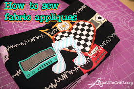 how to sew fabric appliques diy fashion tutorial with