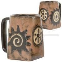 square bottom coffee mugs in modern rustic styles
