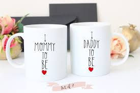 pregnancy announcement coffee mug set baby shower gift the love