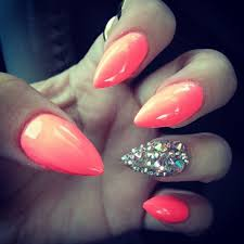 acrylic nails pointy google search pointy nails pinterest