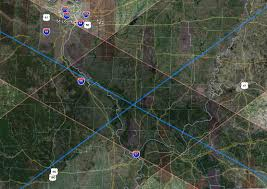 Can You Show Me A Map Of The United States Total Solar Eclipse 2017 Path Overlap With The 2024 Eclipse