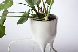 design blumentopf moderne blumentöpfe die pflanzen vom fensterbrett befreien