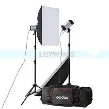 studio lighting equipment for portrait photography godox 2x 250w studio flash lighting kit 500w strobe flash light