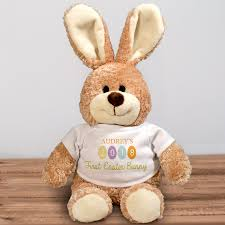 personalized easter bunny my 1st easter personalized easter bunny giftsforyounow