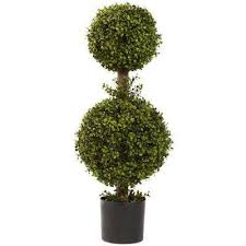 Topiary Trees Artificial Cheap - topiaries the home depot