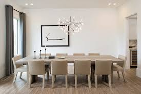 contemporary chandeliers dining room scandinavian with